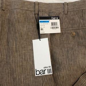 Bar lll Linen Dress Pants Size 36WX32L New W Tags